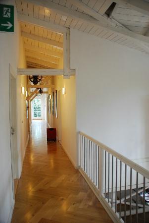 هوتل ستيجنور: il corridoio 