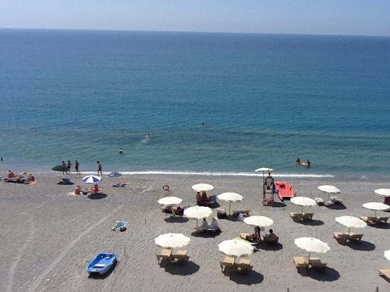 Hotel Riviera Miramare: vista dalla nostra stanza