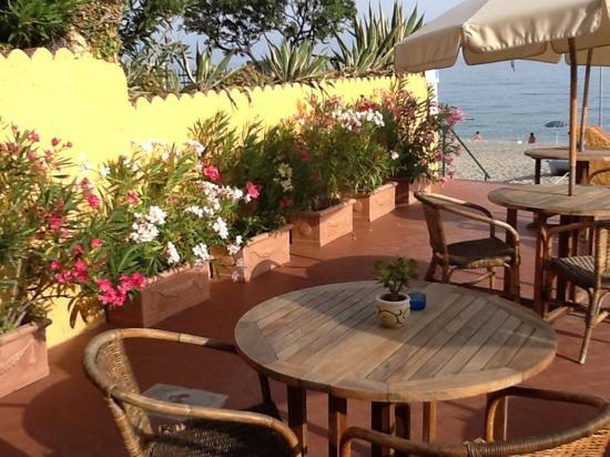 Hotel Riviera Miramare: mica male far colazione qui...