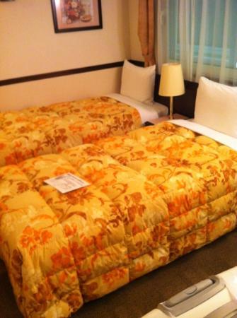 Toyoko Inn Tokyo Akiba Asakusabashi-eki Higashi-guchi: 經濟雙人雙床房