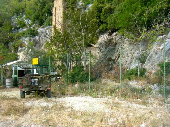 Sant'Oreste, Italie : bunker soratte