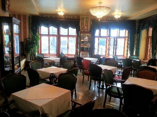 Grand Hotel Praha: lobby