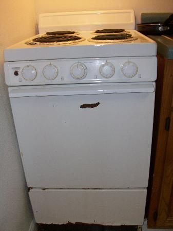 Dolphin Lane Motel: Stove that did not work!