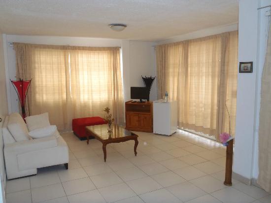 Cabanas Isla del Sol: living area