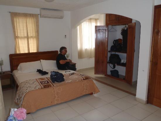 Cabanas Isla del Sol: bed