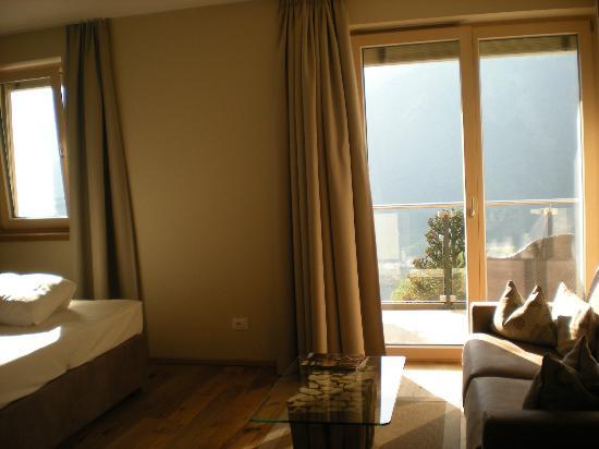 Sonnenparadies: vista balcone