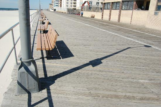 Long Beach, État de New York : A picture I took of the boardwalk