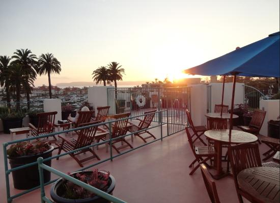 Coronado Beach Resort: View from the deck August 2012