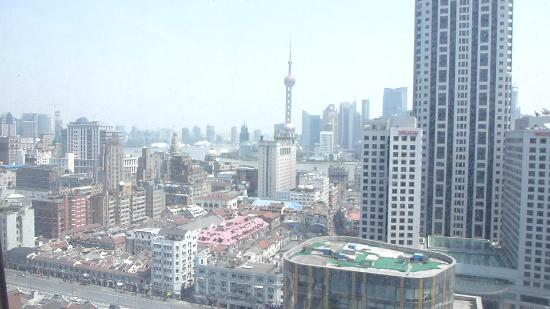 Salvo Hotel Shanghai: View from room