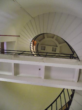St Catherine's Lighthouse: 94 steps....
