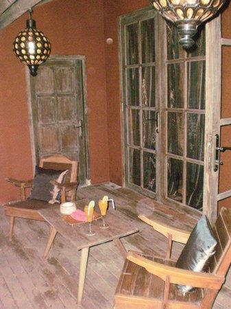 BALQUISSE Heritage Hotel: Petite terrasse privative