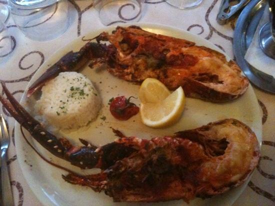 Le Cafe du Commerce : homard griller
