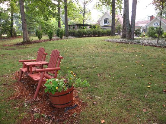 Foxfield Inn: Back yard area