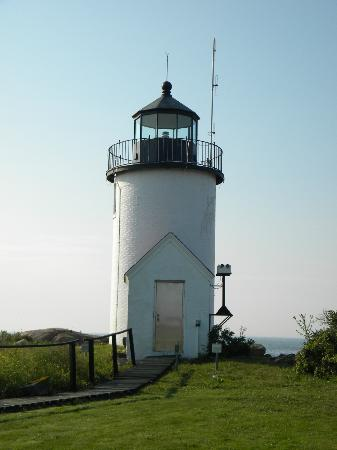 Cape Porpoise, ME: Goat Island Light
