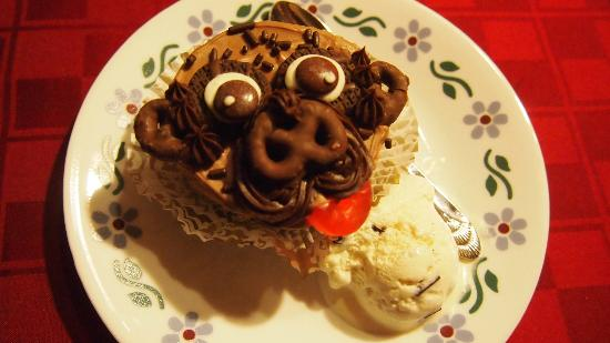 Franklin Victorian Bed & Breakfast: We have a pug, who was the inspiration for my cupcakes.