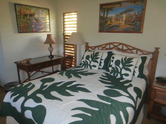 Hale Huanani Bed and Breakfast: Camera da letto