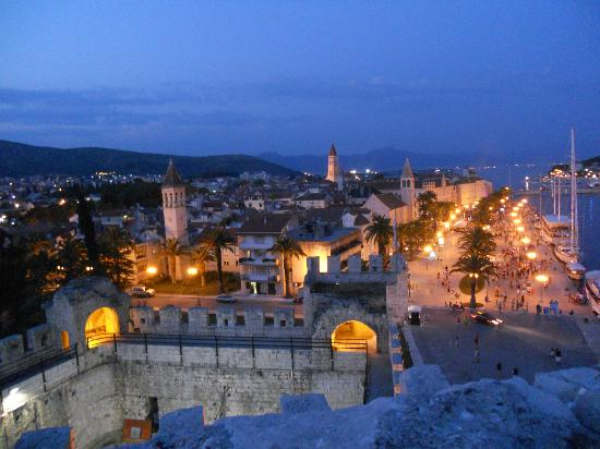Weltkulturerbestätte Trogir: Widok z twierdzy