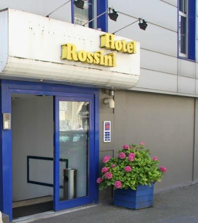 Hotel Rossini : Entrance