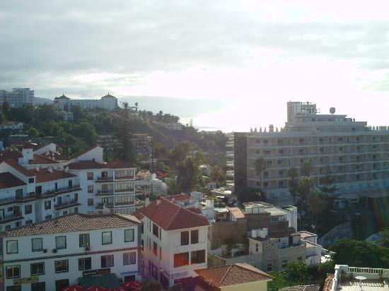 Hotel Puerto de la Cruz: view from balcony