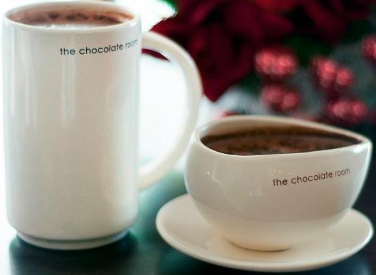 the chocolate room : Hot Chocolates