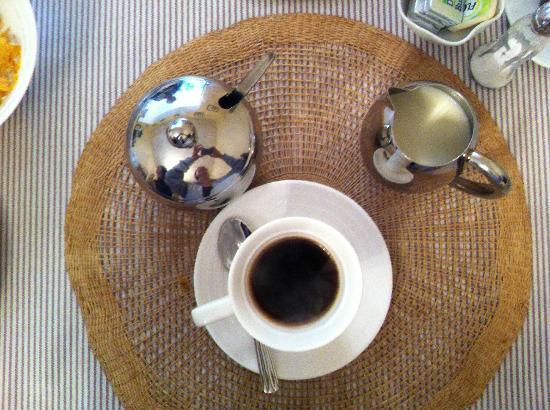 Sika Lodge B & B: caffè