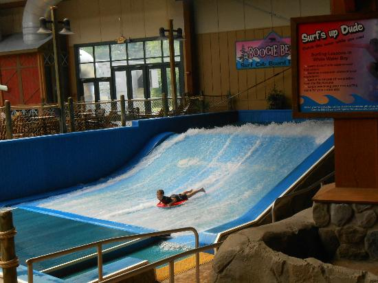 Six Flags Great Escape Lodge & Indoor Waterpark: boggie board