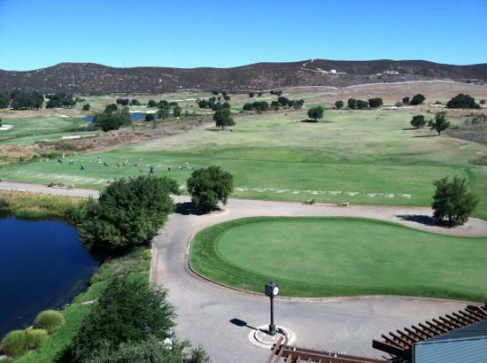 Barona Valley Ranch Resort & Casino: driving range and practice green