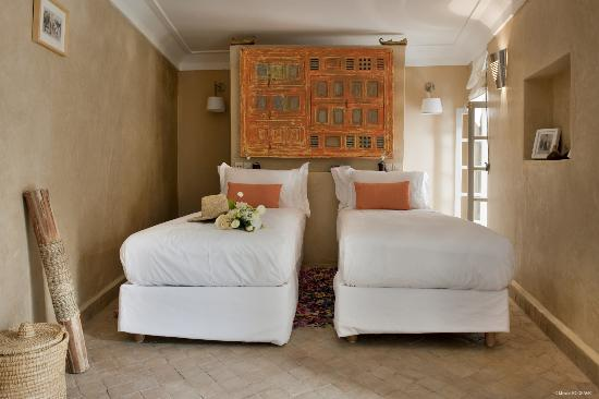 Riad Anata: chambre orange