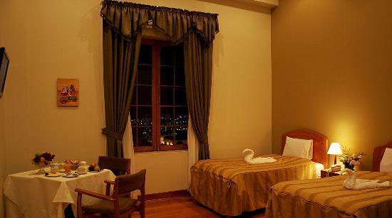 Don Bosco Hotel: Habitación con vista a la ciudad