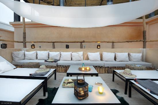 Riad Anata: Terrasse Lounge