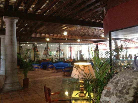 Real de Minas San Miguel de Allende: Lobby und Restaurant