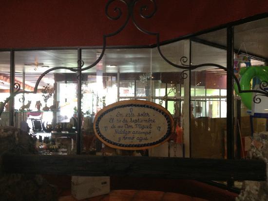 Real de Minas San Miguel de Allende: Lobby