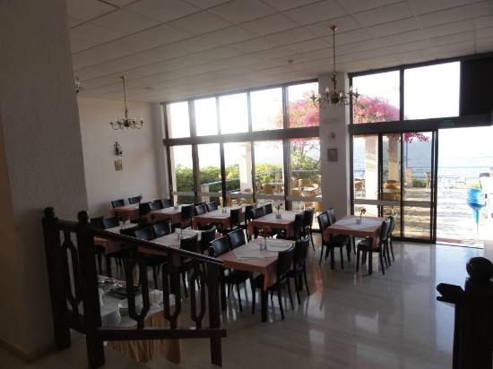 Hotel Stella Beach: τραπεζαρια