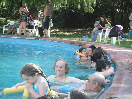 Curacautin, Chile: pileta de aguas termales