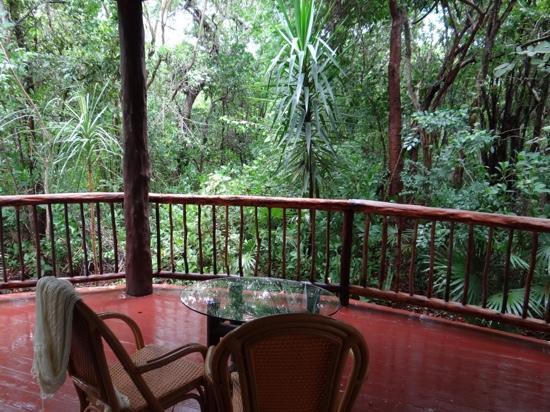 Bel Air Collection Resort & Spa Riviera Maya: terrasse