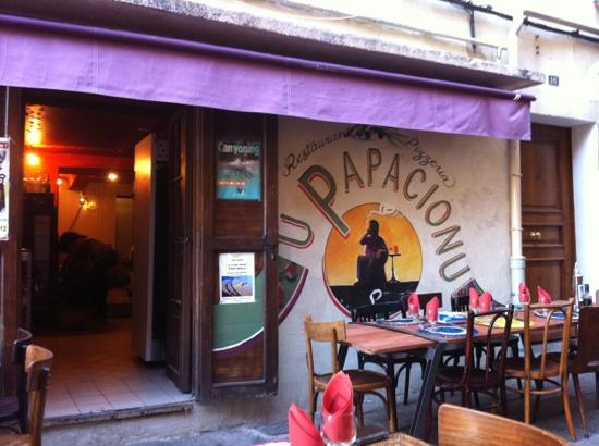 Le papacionu ajaccio restaurant avis num ro de - Pizzeria le finestre roma ...