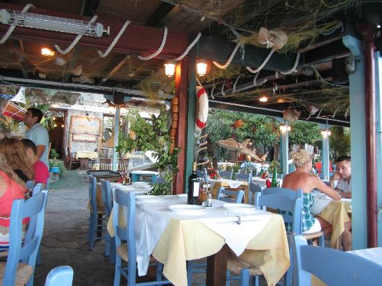 Tavern Giorgos : this place is for those who like to be seen as the owner boats of some famous people dropping by