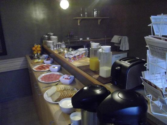 Onderland: Petit déjeuner-buffet