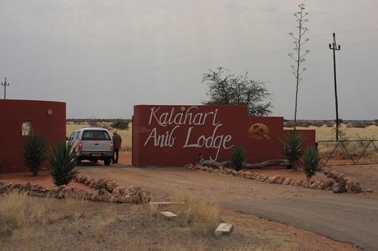 Kalahari Anib Lodge: ingresso