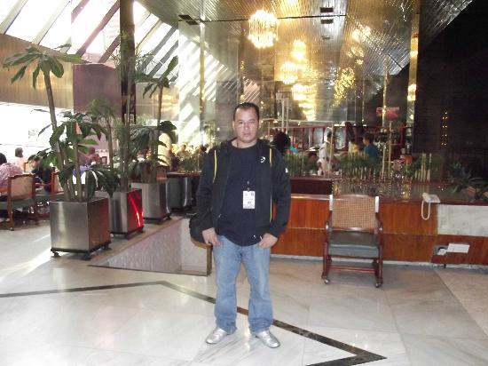 Plaza Madrid: en el lobby del hotel