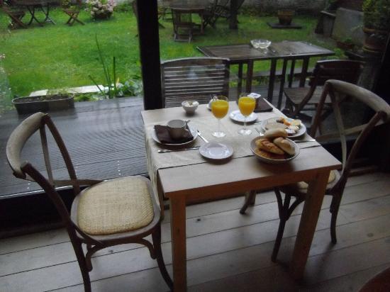 Onderland: Salle du petit déjeuner
