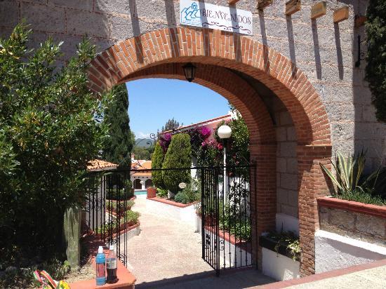 Villas La Hacienda: Eingang