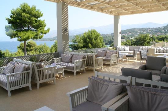 Thalassa Hotel: The balcony
