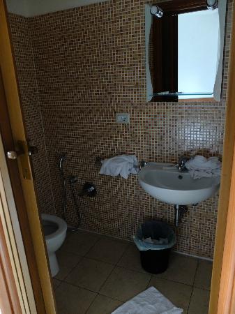 Hotel Arco Romana: bagno