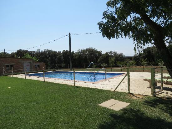 Masia Rural Can Poch: Piscina