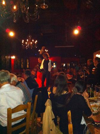 Flameco dancing at Costa Dorada, London