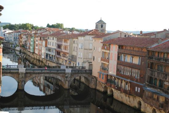 Grand Hotel de Castres: view from our room