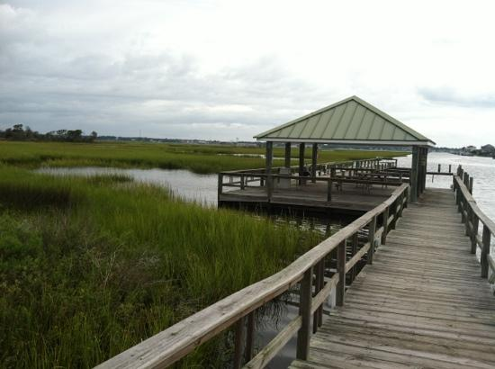 Palm Suites of Atlantic Beach: boat dock