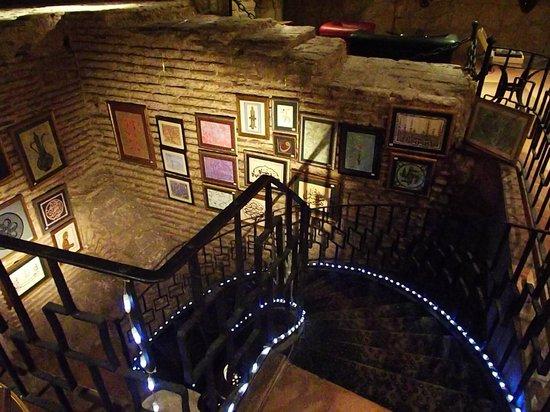 Antik Hotel Istanbul: Antik Cisterna (in the cellar)