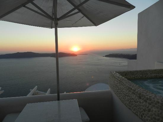 Above Blue Suites: Sunset